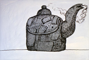 Phillip Guston | Untitled (Kettle) | 1980