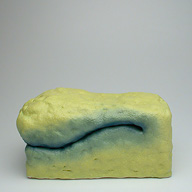 Big Dumb | 2004 | 9x6x5.5 inches | ceramic and nail polish