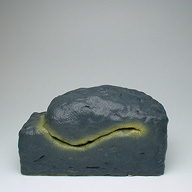 Yellow #6 | 2004 | 9x6x5.5 inches | ceramic and nail polish