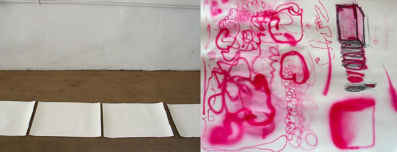 Gessoed Paper /  Airbrush Blotter