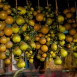 Fruit Lit by Street Lamp