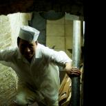 Man in Kitchen Uniform