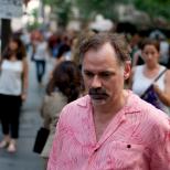 Man Crossing 42nd Street