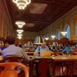 Cooling Off at the NY Public Library