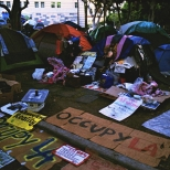 Occupy LA Signs