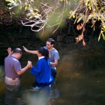 Baptism in the Creek